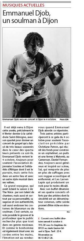 article edp concert dijon 20140919