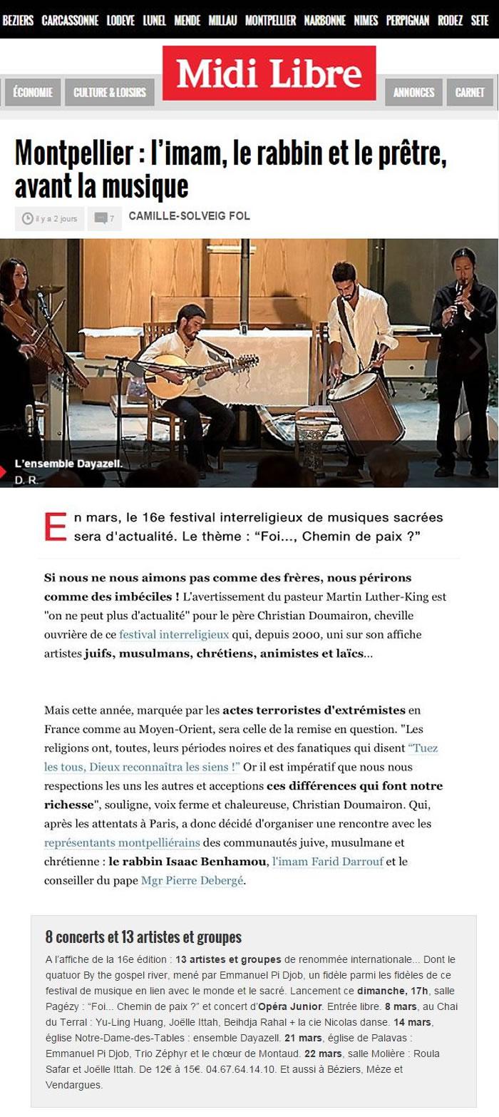 Fest MusicSacrées Montp Mars15