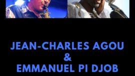 Jean-Charles Agou et Emmanuel Pi Djob