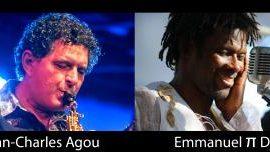 Emmanuel Pi Djob et Jean-Charles Agou