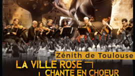 Concert La ville en rose chante en choeur pour Haïti