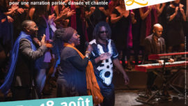 "spectacle chant-danse ""Gospel Rivers - L'Adapté"""