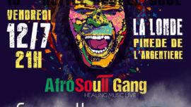 2019-07-12 Concert PI DJOB & AfroSoull Gang LA LONDE