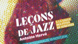 2019-11-21 Antoine Hervé et Emmanuel Pi Djob LA LECON DE JAZZ - Suresnes