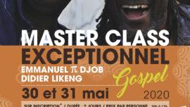 2020-05-30 stage gospel avec Emmanuel Pi Djob et Didier Likeng à Beaumes-de-Venise
