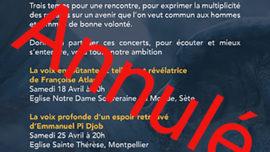 2020-10-10 Lumiere de femmes concert annulé