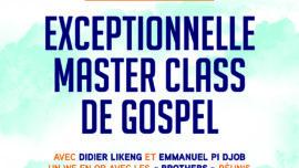 stage gospel avec Emmanuel Pi Djob et Didier Likeng